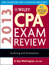 Wiley CPA Exam Review 2013, Auditing and Attestation (eBook)